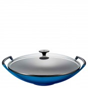 Cookware - Wok with Glass Lid, 36cm, 4.5L