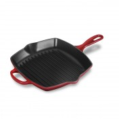 Square Skillet Grill with Iron Handle, 26cm