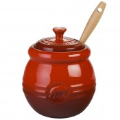 BBQ Pot with Silicone Brush