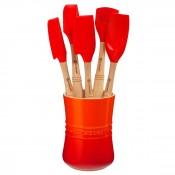 Revolution - 6-Piece Kitchen Utensil & Holder Set