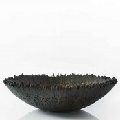 Borocay - Driftwood Fruit/Centrepiece Bowl, 56cm - Charcoal
