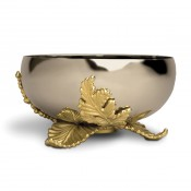 Gold Plate Small Bowl, 15cm