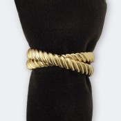 Deco Twist Set/4 Napkin Rings