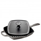 Cookware - 2-Piece Skillet Grill and Panini Press Set