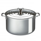 Stock Pot with Lid, 6.6L