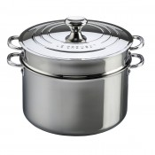 Stock Pot with Lid & Pasta Insert, 8.5L