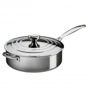 Saute Pan with Lid & Helper Handle, 4.3L