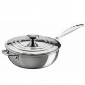Saucier/Chef's Pan with Lid, 3.3L