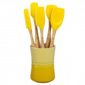 Revolution - 6-Piece Kitchen Utensil & Holder Set