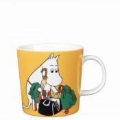 Cartoon Character Mug, 8cm, 300ml - Moominmamma Apricot
