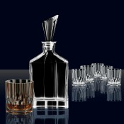 7 Piece Spirit Decanter Set