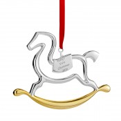 2016 Baby's First Christmas Rocking Horse Ornament, 9cm
