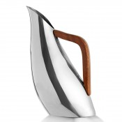 Stainless Steel Jug/Pitcher with Wood Handle, 28cm