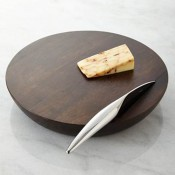 Cheese Board with Knife, 31cm - Espresso
