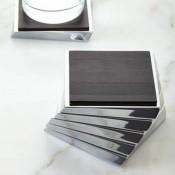 Set/6 Coasters, 11cm - Espresso