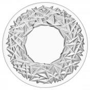 Crystal Flat Cake/Tart/Serving Plate, 31cm