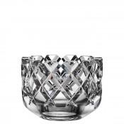 Round Decorative Crystal Bowl, 15.5cm - Medium