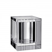 Large Glass Covered Box, 11cm