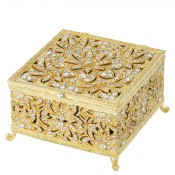Large Box, 11.5x11.5cm - Gold
