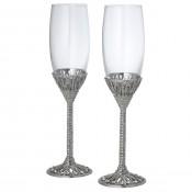 Set/2 Champagne Flutes, 25cm, 210ml