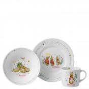 Girl's 3-Piece Dinner Set