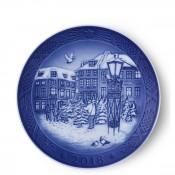 2018 Christmas Plate, 18cm - Christmas Tree Market