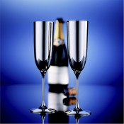 Alta Silver Plate Champagne Flute