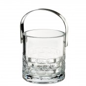 Ice Bucket with Stainless Steel Handle, 15.5cm