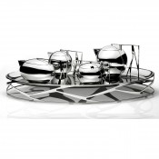6 Piece Tea and Coffee Set