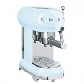 50's Retro Style - Manual Espresso Coffee Machine - Pastel Blue