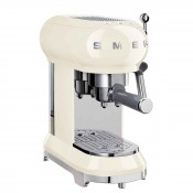 50's Retro Style - Manual Espresso Coffee Machine - Cream