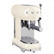 50's Retro Style - Manual Espresso Coffee Machine - Cream