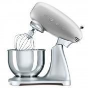 50's Retro Style - 600W Stand Mixer, 4.8L  - Silver