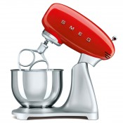 50's Retro Style - 600W Stand Mixer, 4.8L  - Red