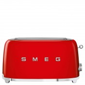 50's Retro Style - 4-Slice Toaster - Red