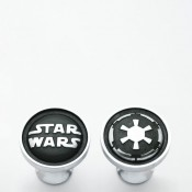 Galactic Empire Cufflinks, 2cm