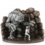 Luke vs Rancor Diorama/Sculpture, 27.5x19.5cm - Limited Edition of 500