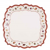 Square Coupe Dinner Plate/Serving Platter, 26cm