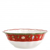 Scalloped Round Serving/Salad Bowl, 32cm