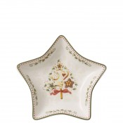 Star-Shaped Decorative Snack Serving Bowl, 13cm
