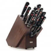 Classic - 13-Piece Knife Block with Knives Set - Brown