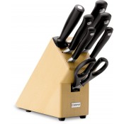 7-Piece Knife Block Set with Knives