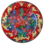 2018 Christmas Charger/Wall Plate, 30cm - Reflections of Holidays