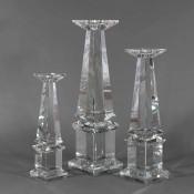 Tower - Classic Glass Candleholder, 51cm