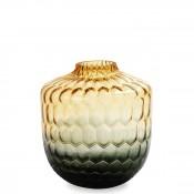 Vase, 30.5cm - Amber/Grey