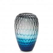 Vase, 34cm - Blue/Grey