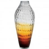 Vase, 48cm - Amber/Grey