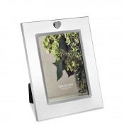 "Silver Plate Photo/Picture Frame, 13x18cm (5""x7"")"