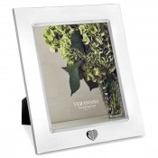 "Silver Plate Photo/Picture Frame, 20x25cm (8""x10"")"