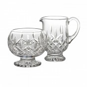 Footed Creamer & Sugar Bowl